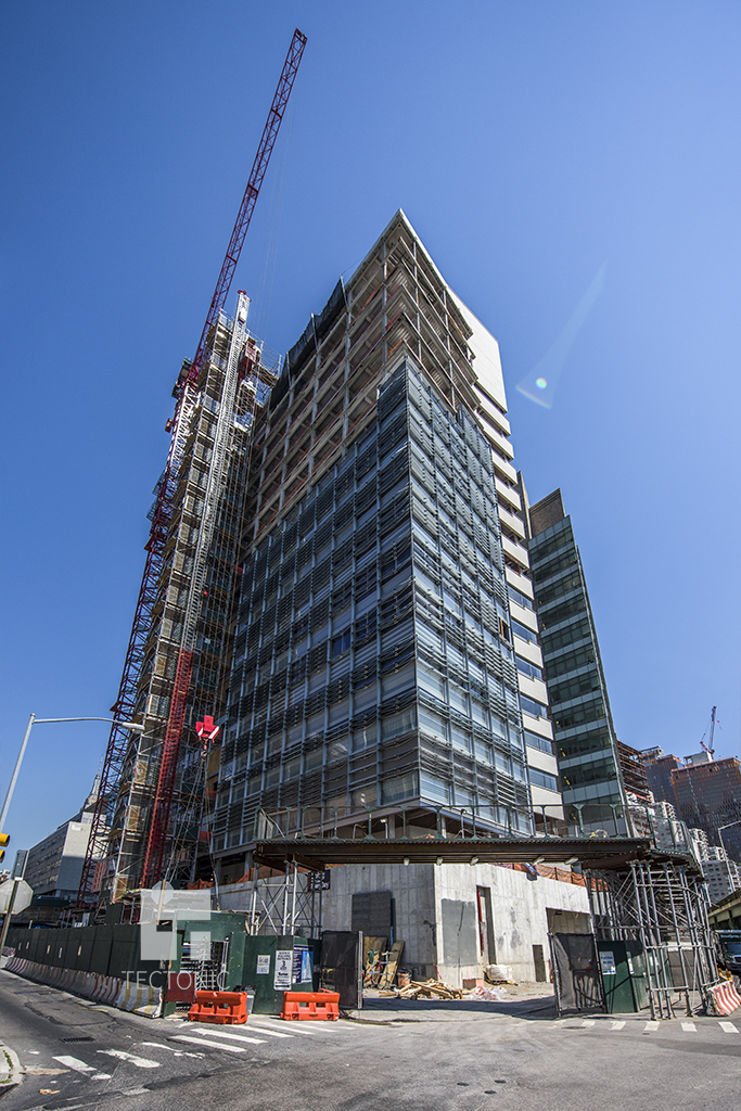 Construction of NYU Langone Medical Center's Science Building. Photo by Tectonic