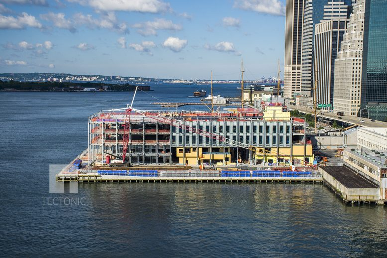 nyc downtown map with Facade Installation Continues At South Street Seaports Pier 17 on 1256093 City Living Without Car 4 as well Geology And Fossils 2 besides New York Central Park besides 17149522281 besides Tribeca.