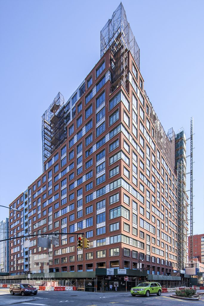 Construction at the Boerum, 265 State Street. Photo by Tectonic