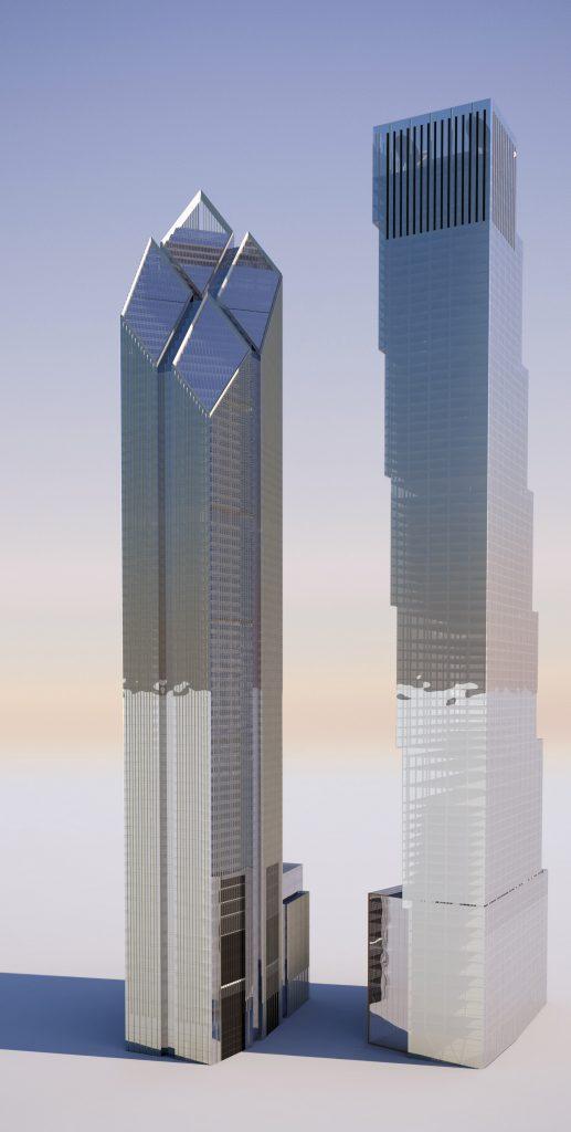 200 Greenwich, Foster's vs. BIG's design