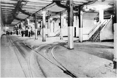 Williamsburg Bridge Trolley Terminal