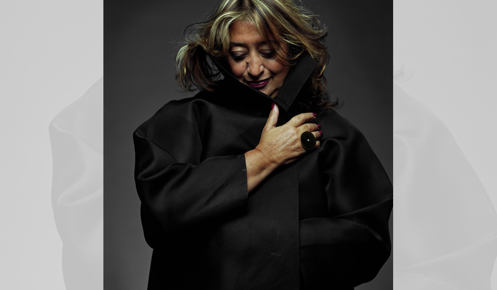 Zaha Hadid. Credit: Zaha Hadid Architects