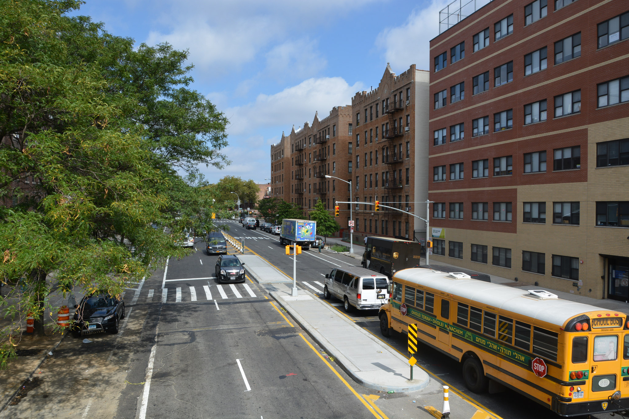 Rockaway Avenue in Brownsville, photo by NYC DOT via Flickr