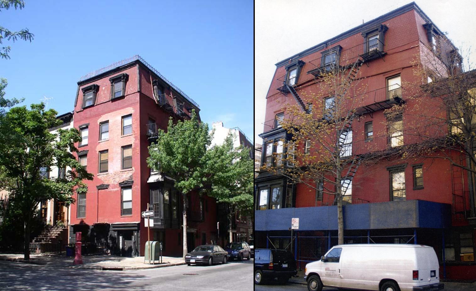 Pre-demolition photos of 100 Clark Street
