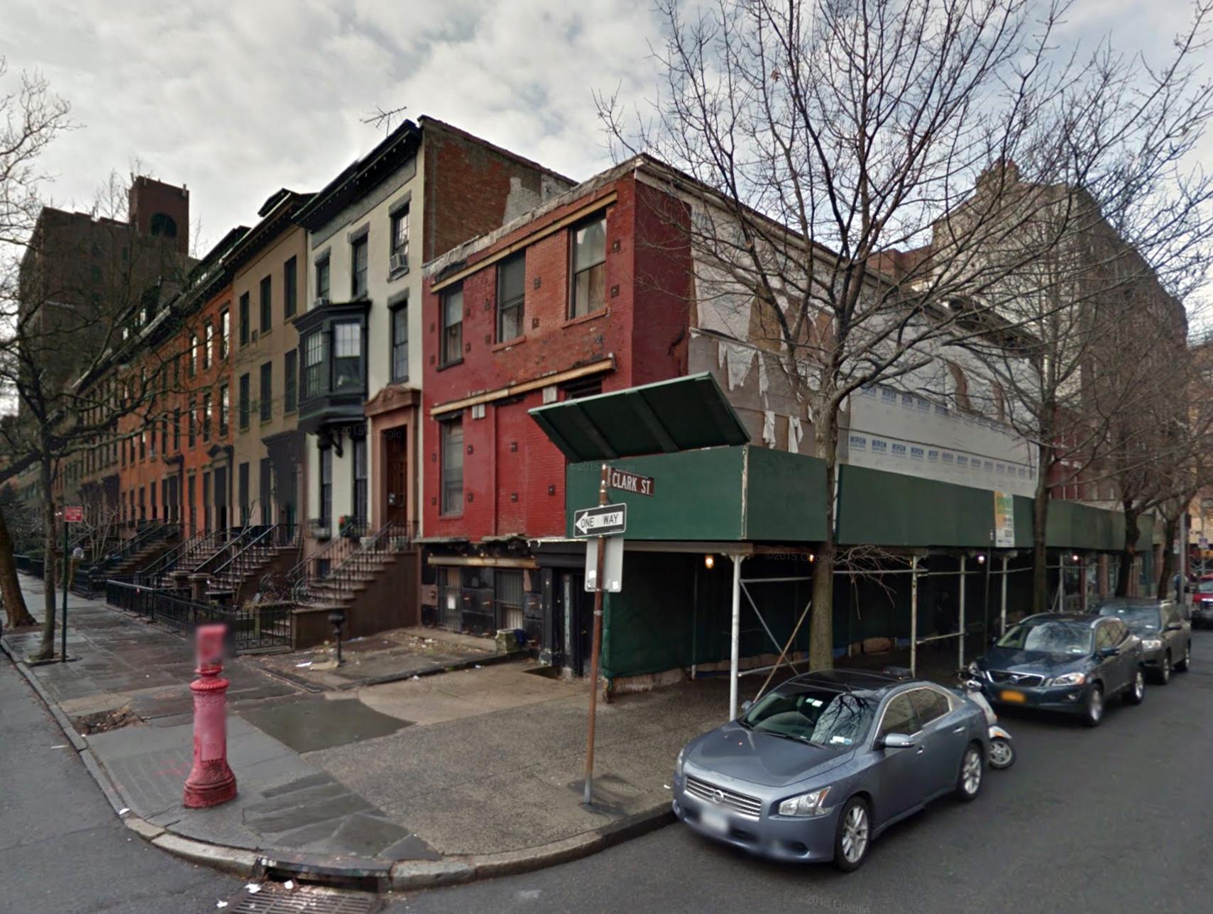 100 Clark Street, January 2013. Photo via Google Maps