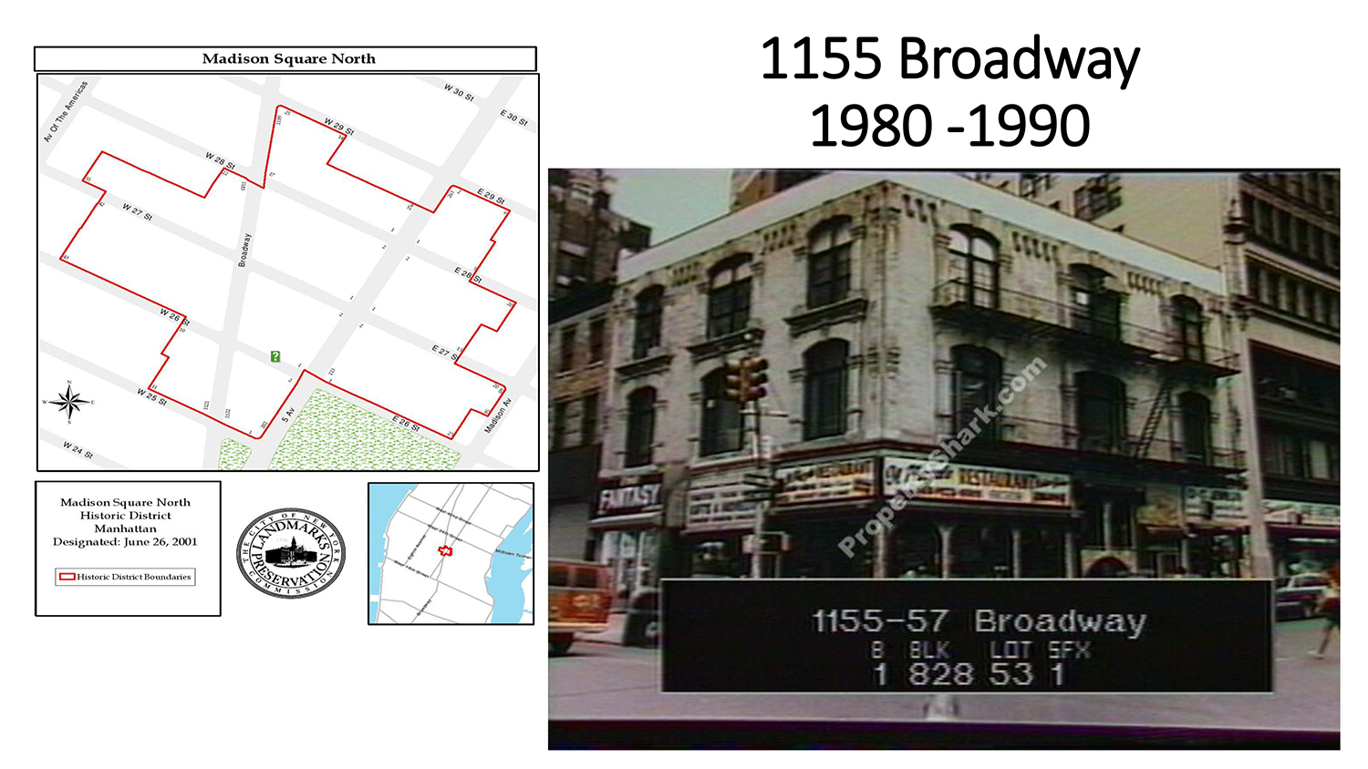 1155 Broadway Canopy Signage