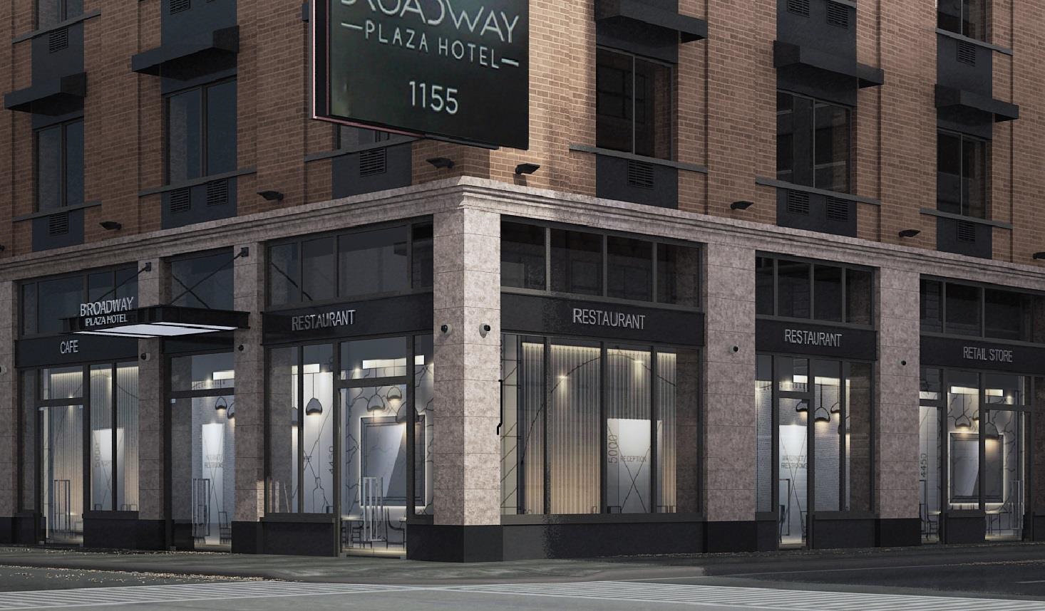 Proposal for Broadway Plaza Hotel, 1155 Broadway