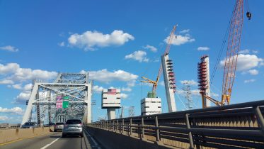 Goethals Bridge. Looking east. Photos by the author unless indicated otherwise.