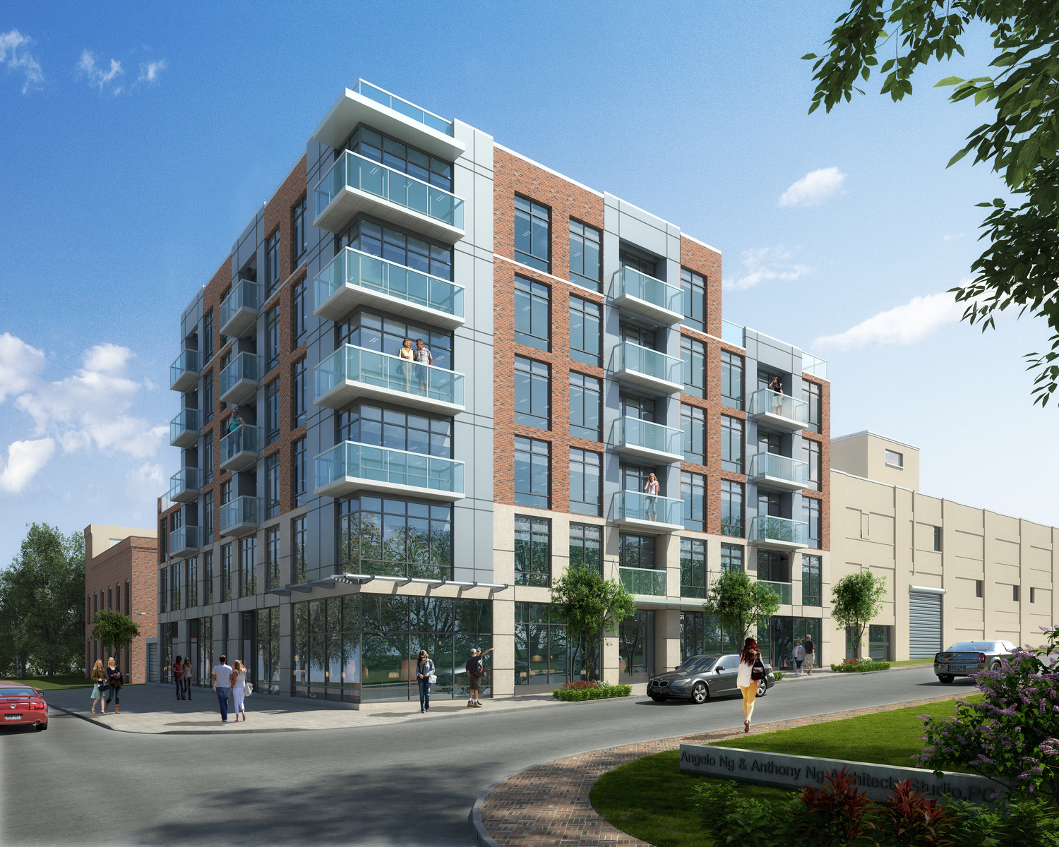 23-01 41st Avenue, rendering by Architects Studio