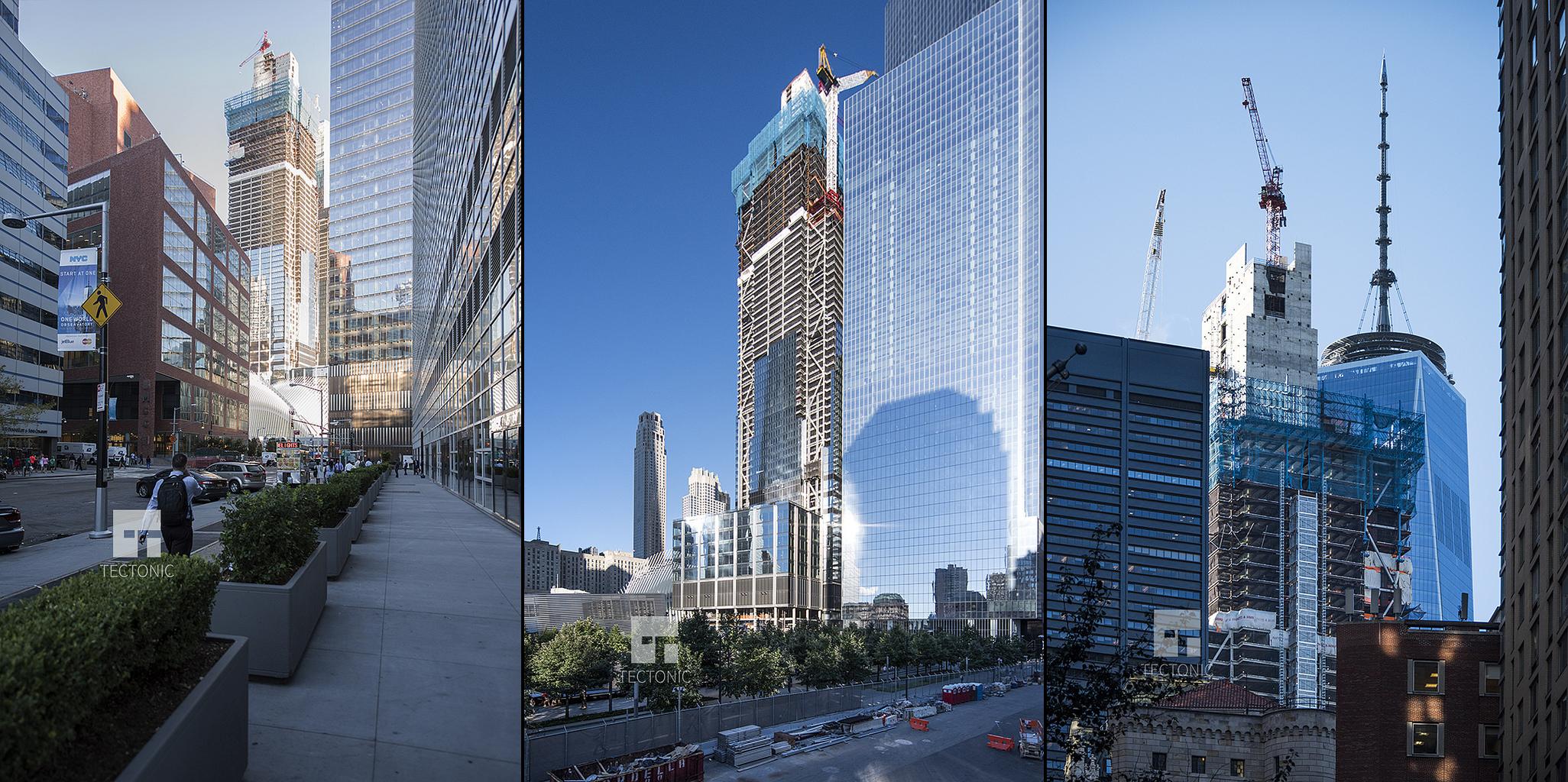 3 World Trade Center. Photos by Tectonic via YIMBY Forums