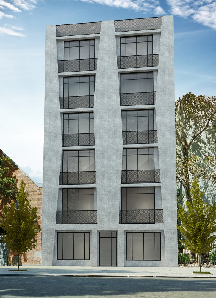 3 West 128th Street, rendering by Beam Group