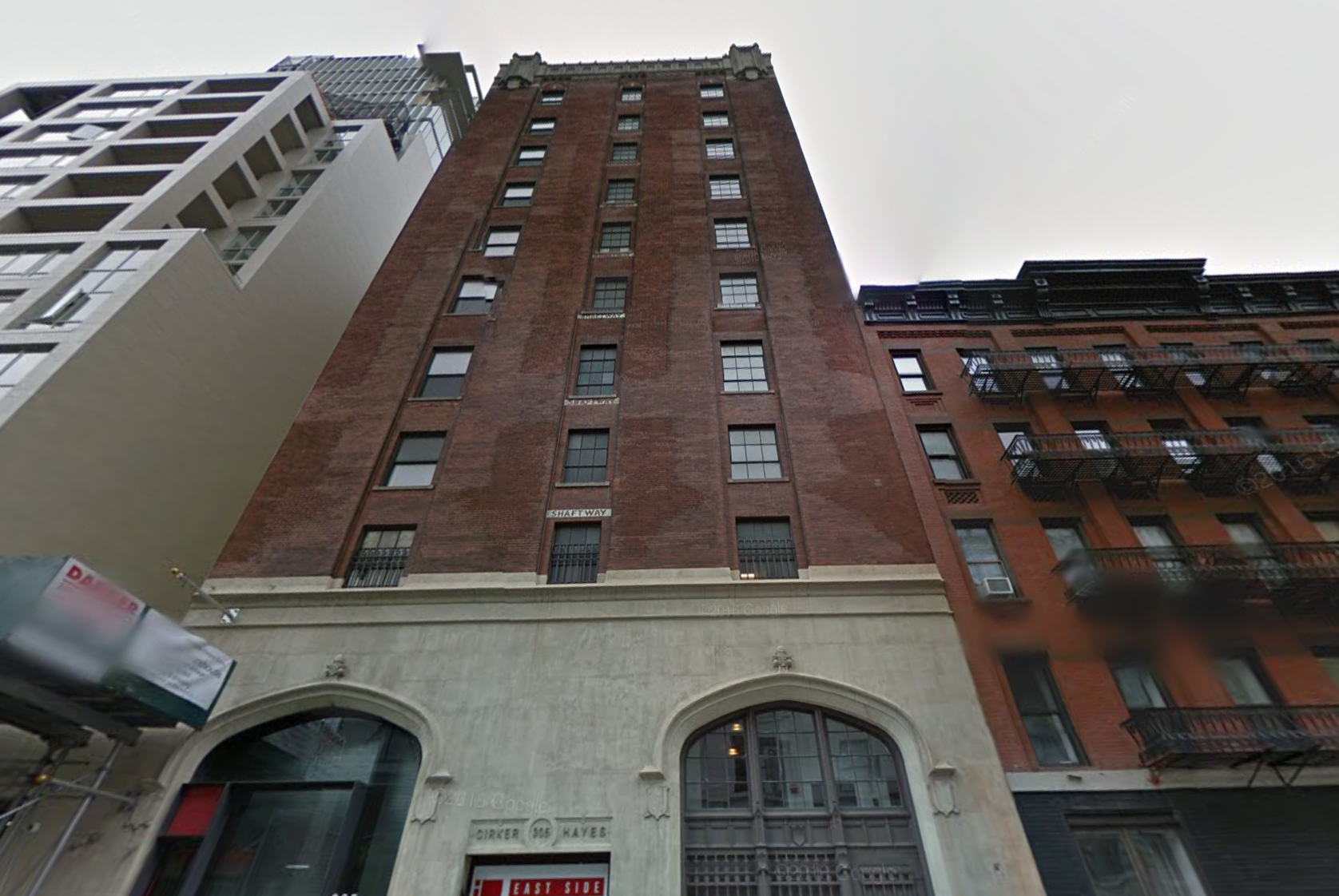 305 East 61st Street in May 2016, image via Google Maps