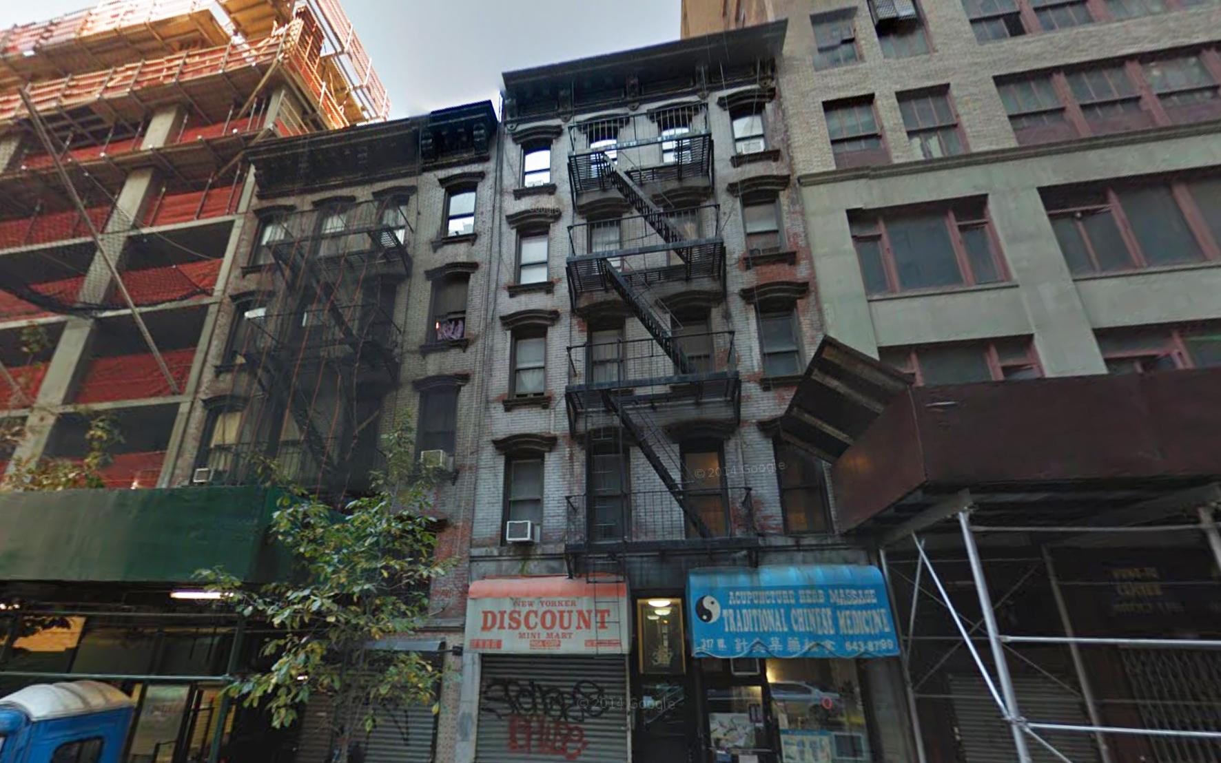 319 West 35th Street, image via Google Maps