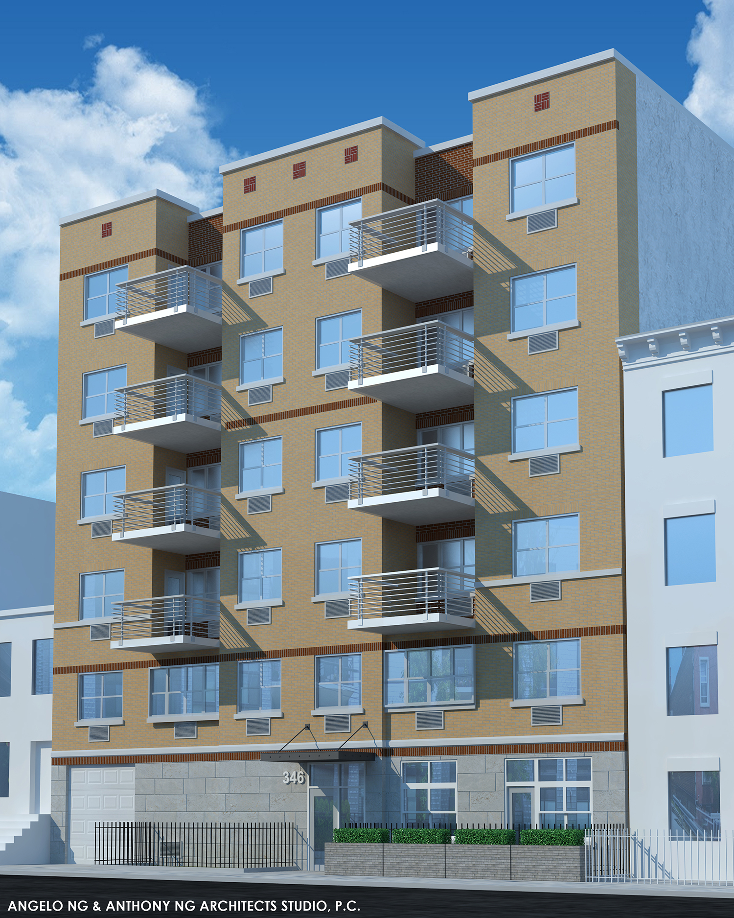 Revealed: Six-Story, 24-Unit Affordable Residential
