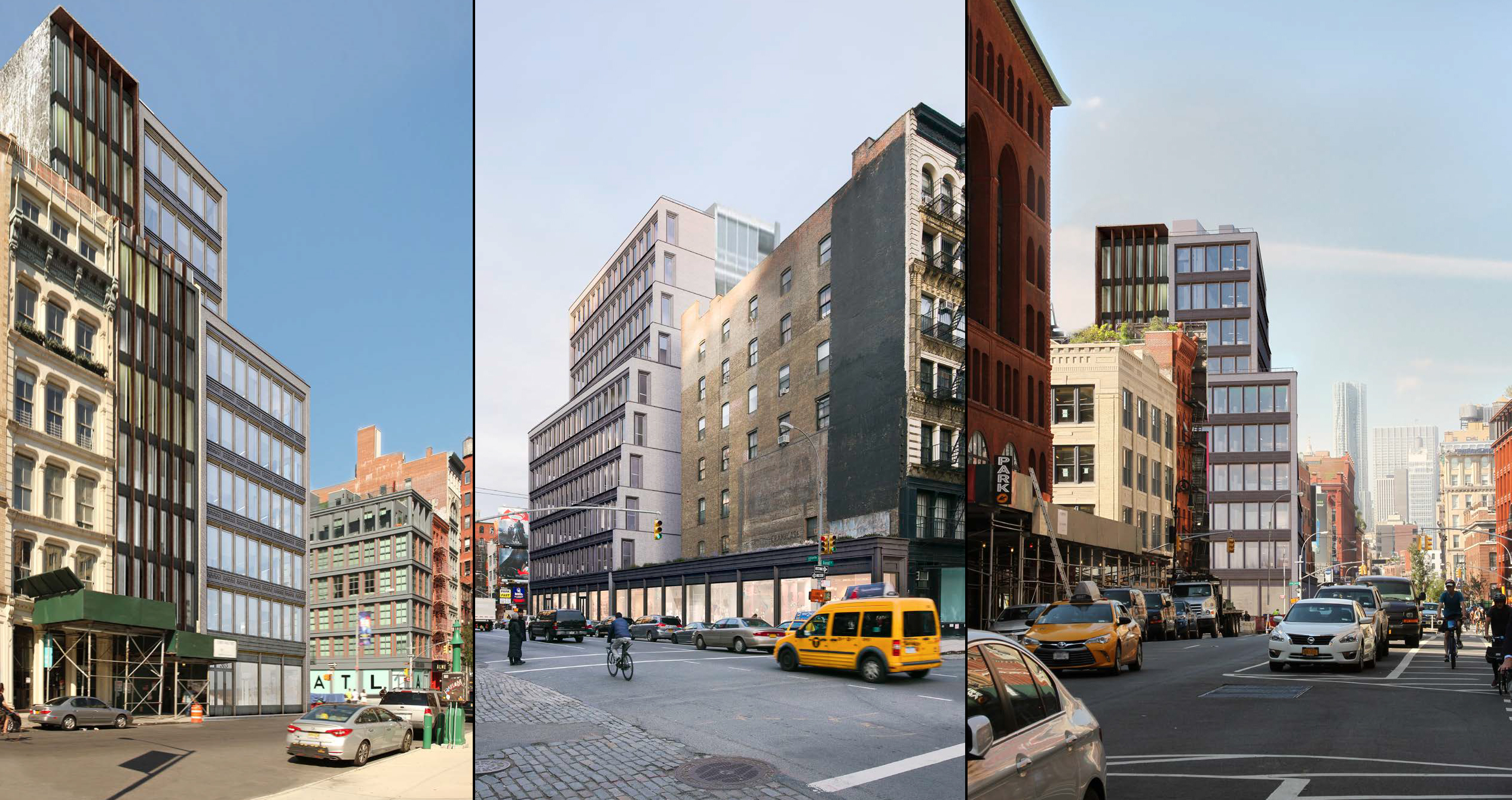 More renderings of the revised proposal for 363 Lafayette Street