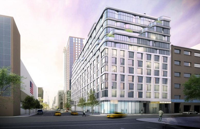 Reveal For Moinian Group S 572 Eleventh Avenue Designed By Cetraruddy Midtown West New York