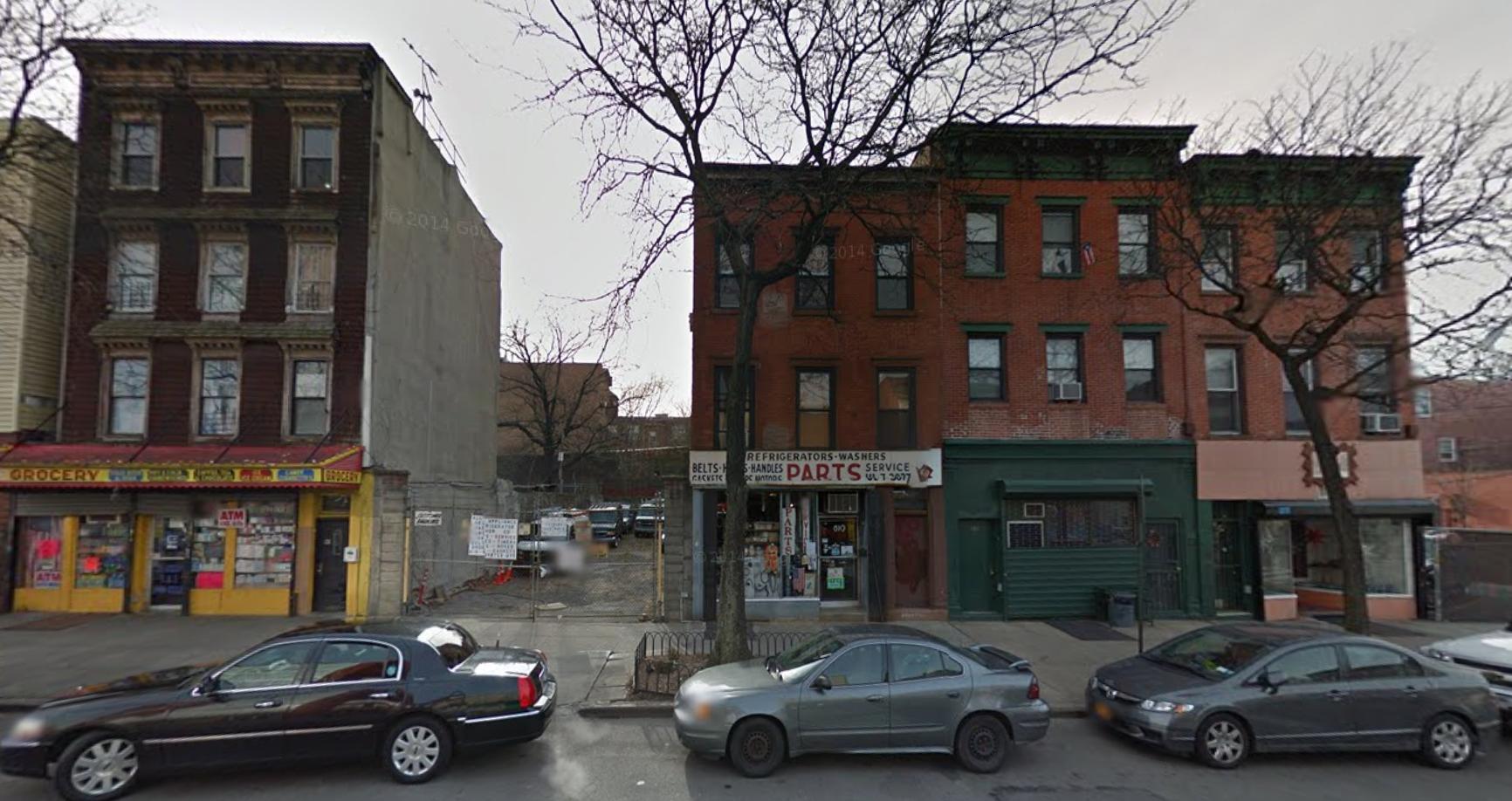 610 Myrtle Avenue, image via Google Maps