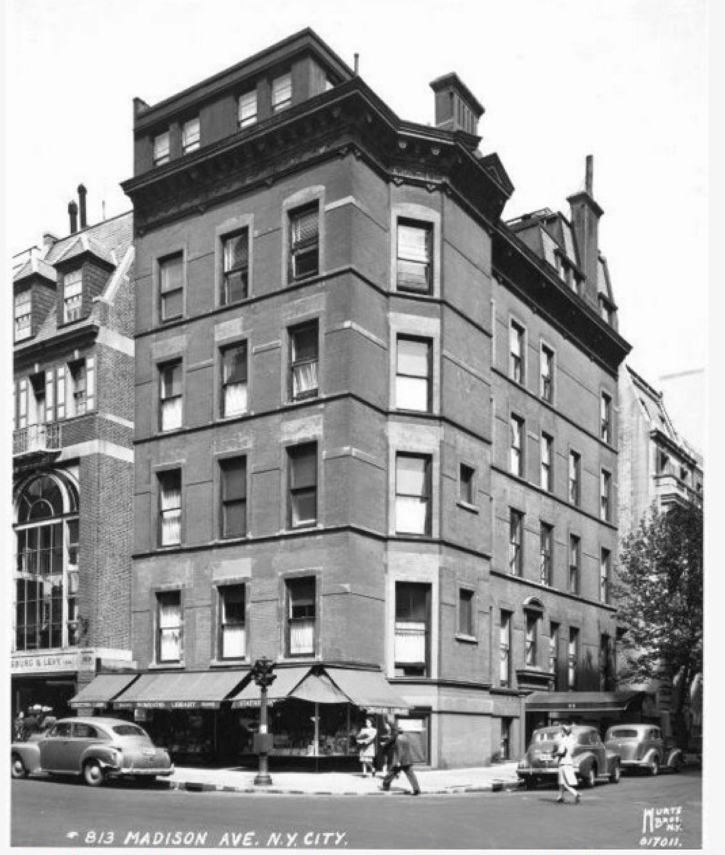 813 Madison Avenue, 1946