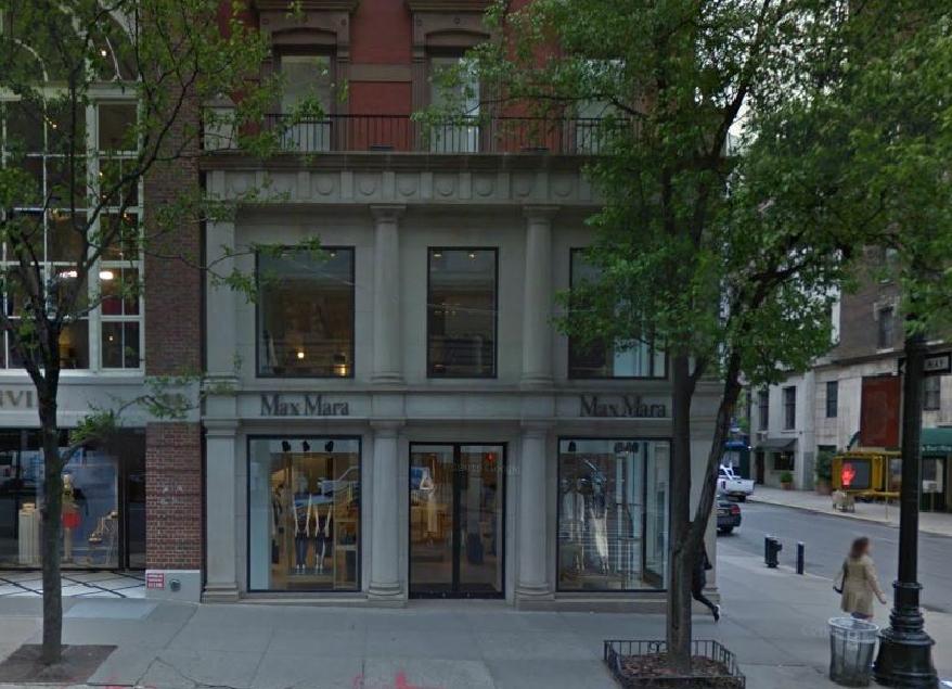 Max Mara at 813 Madison Avenue, existing conditions