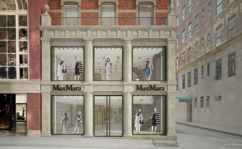 Proposal for Max Mara at 813 Madison Avenue