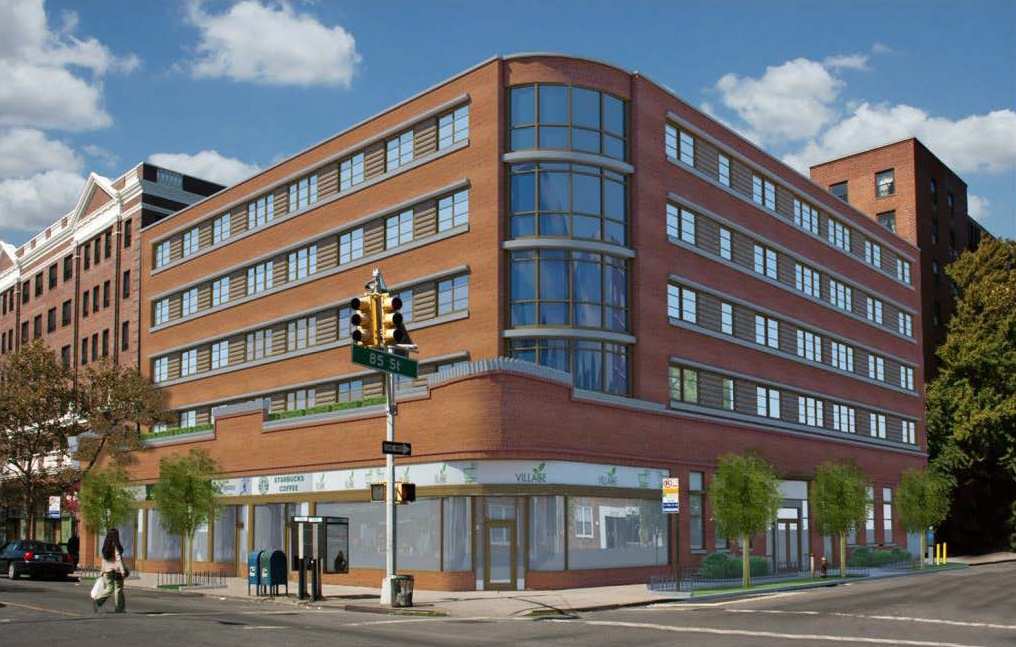 Previous proposal for 35-64 85th Street (a.k.a. 84-11 37th Avenue)