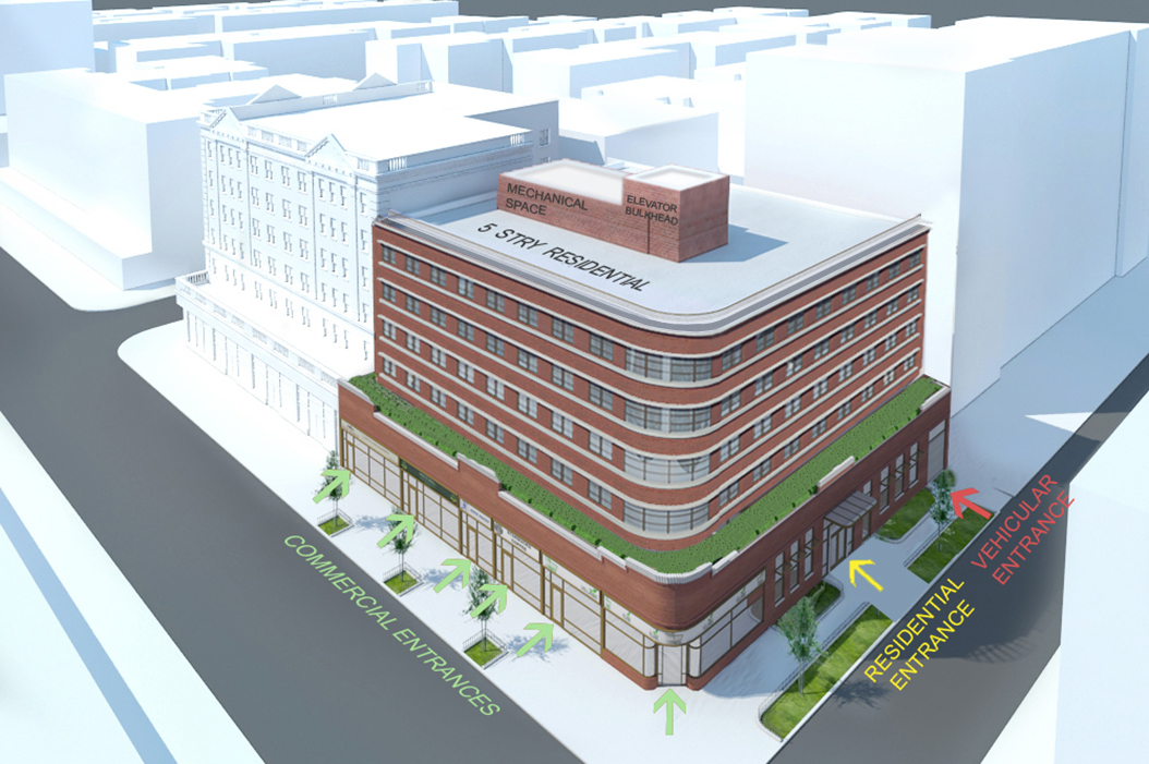 Proposal for 35-64 85th Street (a.k.a. 84-11 37th Avenue)