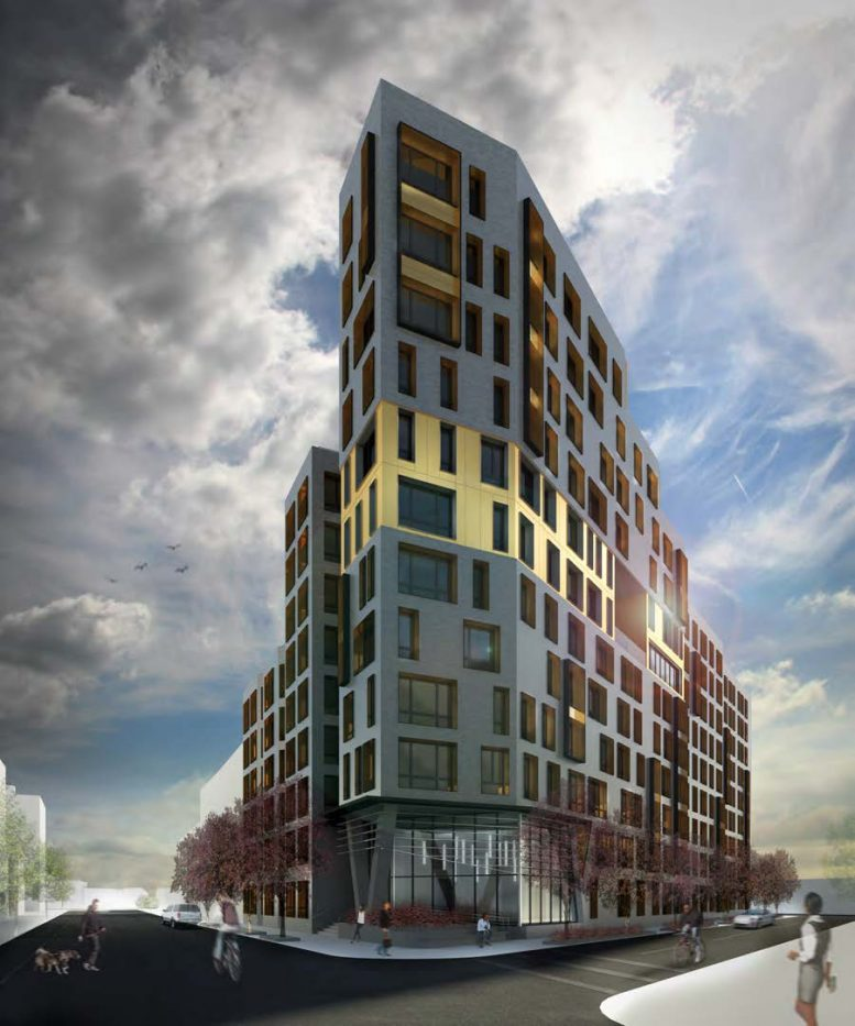 869 East 147th Street, rendering by MAP