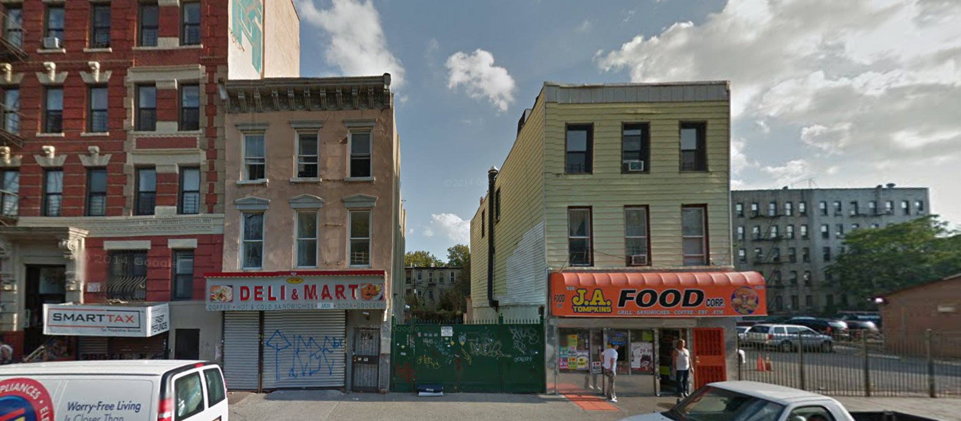 924 Myrtle Avenue, image via Google Maps