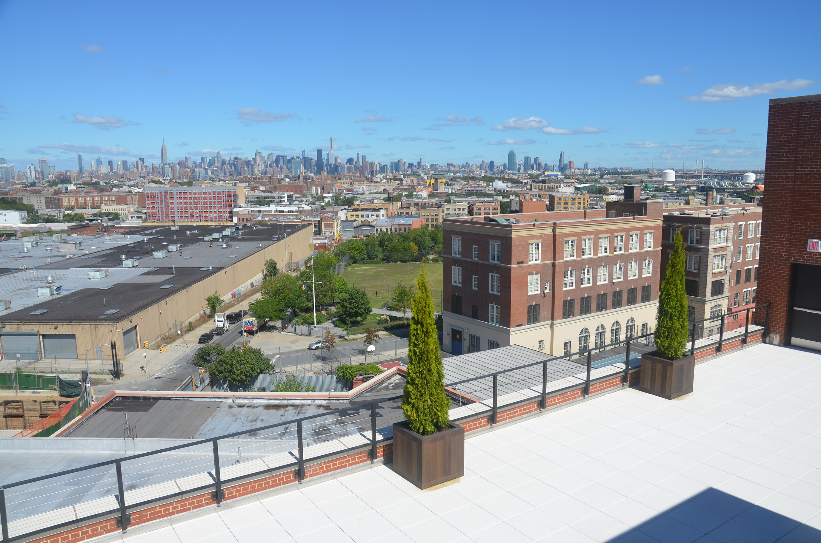 View from roof of 95 Evergreen Avenue