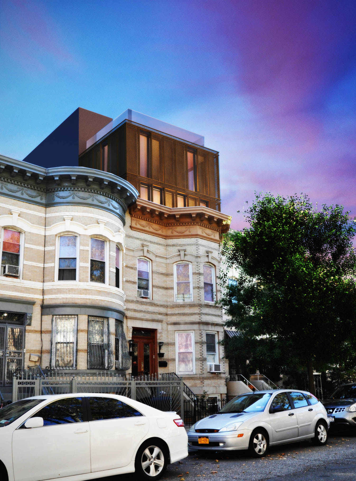 352 Weirfield Street, rendering by OPerA Studio