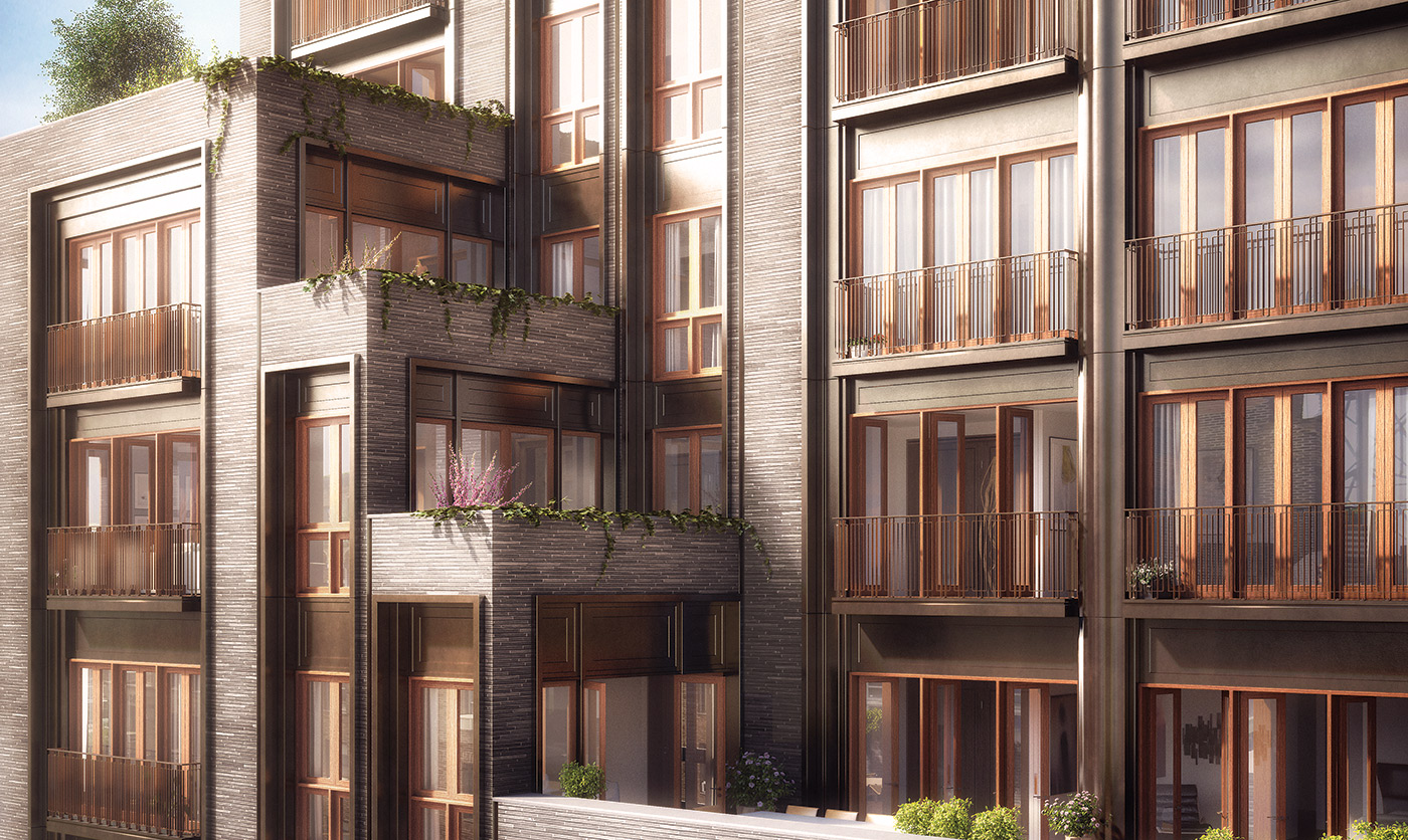 Rendering of 210 West 77th Street