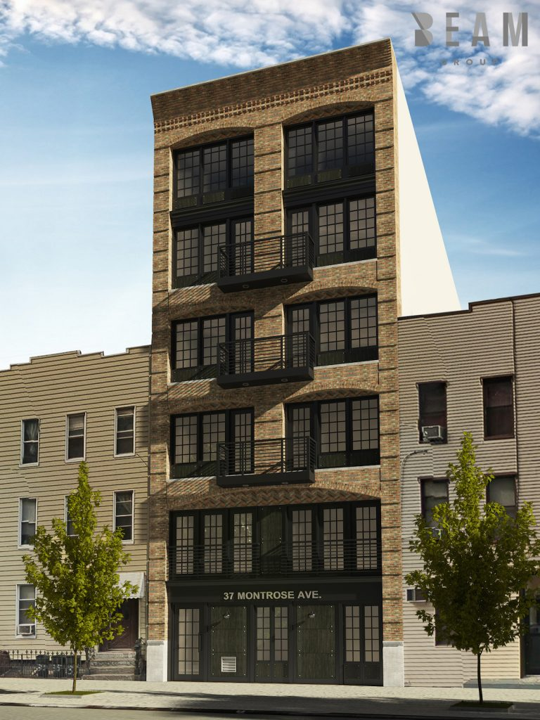 37 Montrose Avenue, rendering by Beam Group