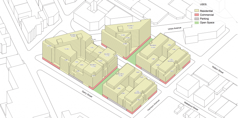 Proposed Broadway Triangle rezoning, via DCP