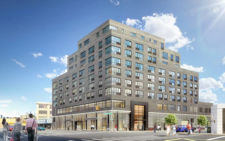 Rendering of 37-14 36th Street. Courtesy of Montroy Andersen DeMarco