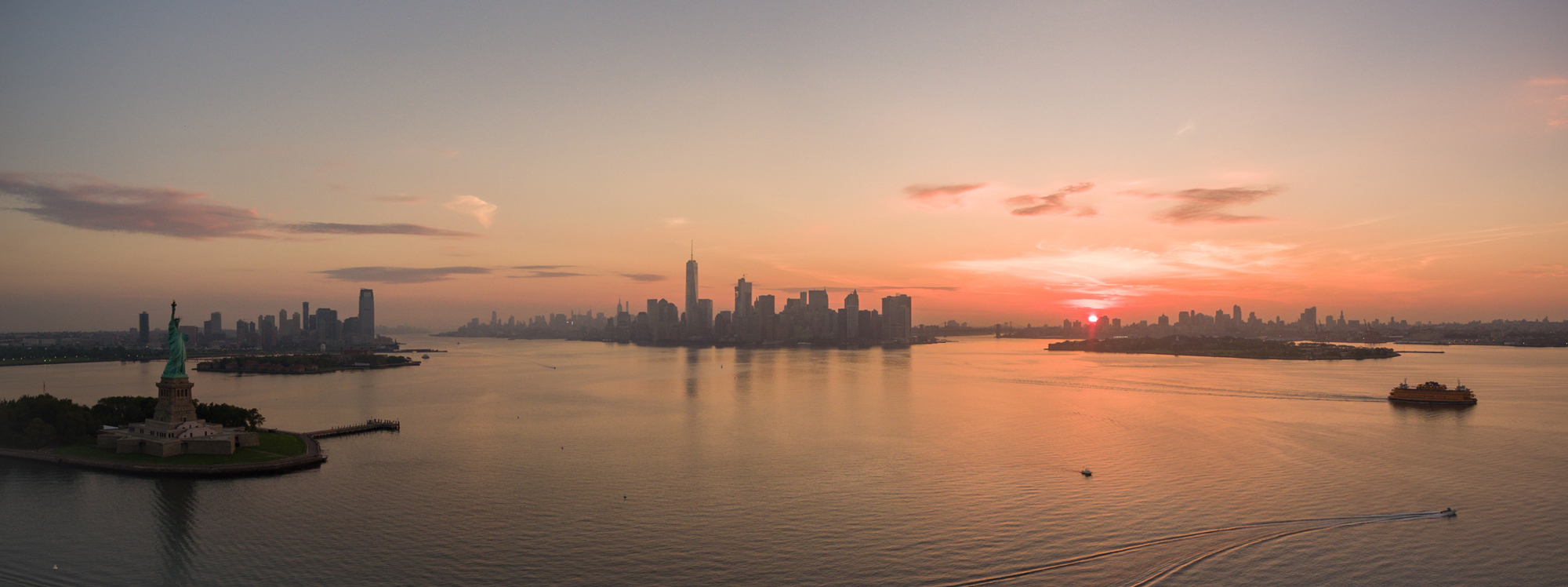 NYC skyline today, Image from Flickr user Eric