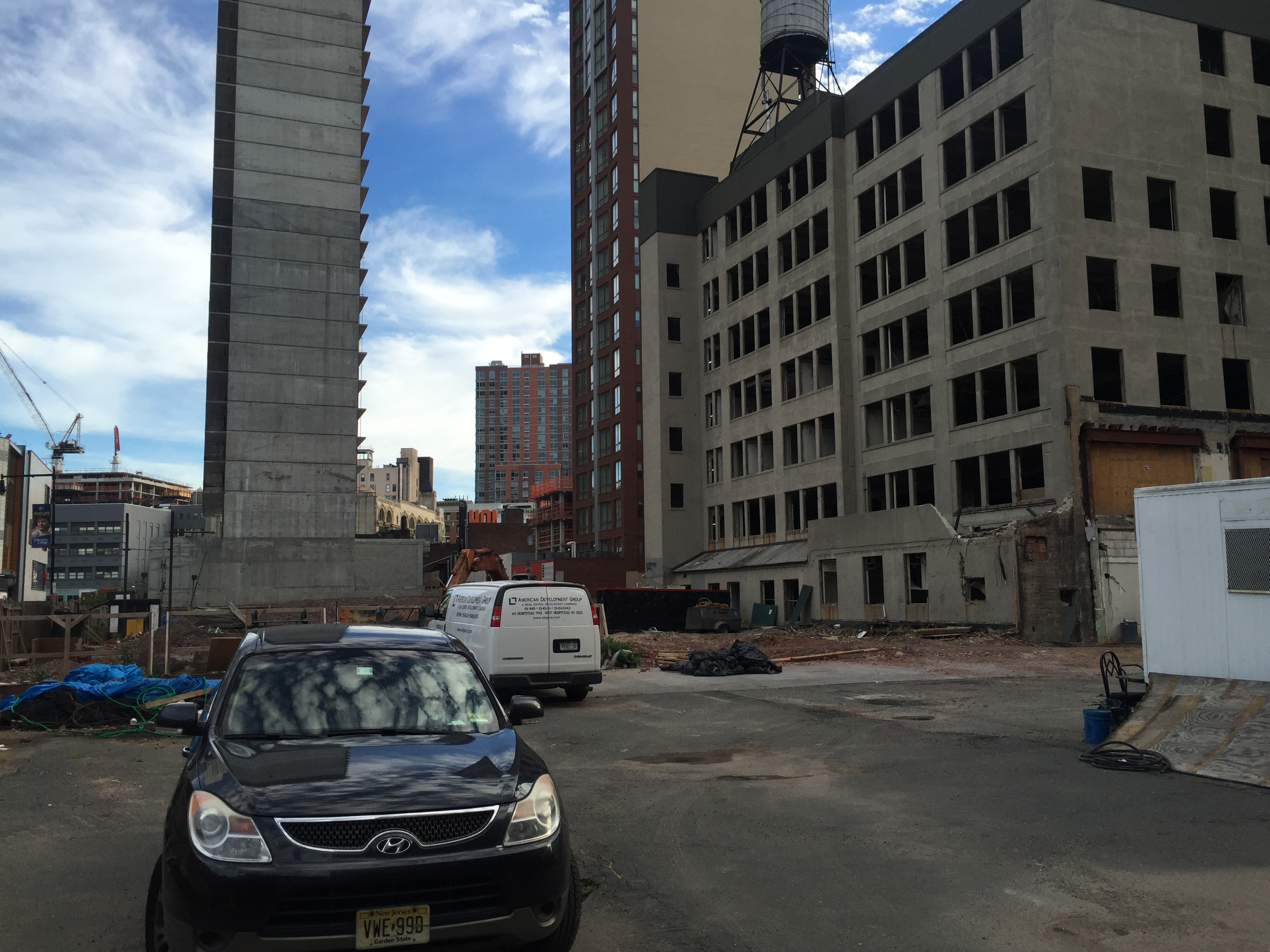 The future Willoughby Square site on Albee Square/Gold Street