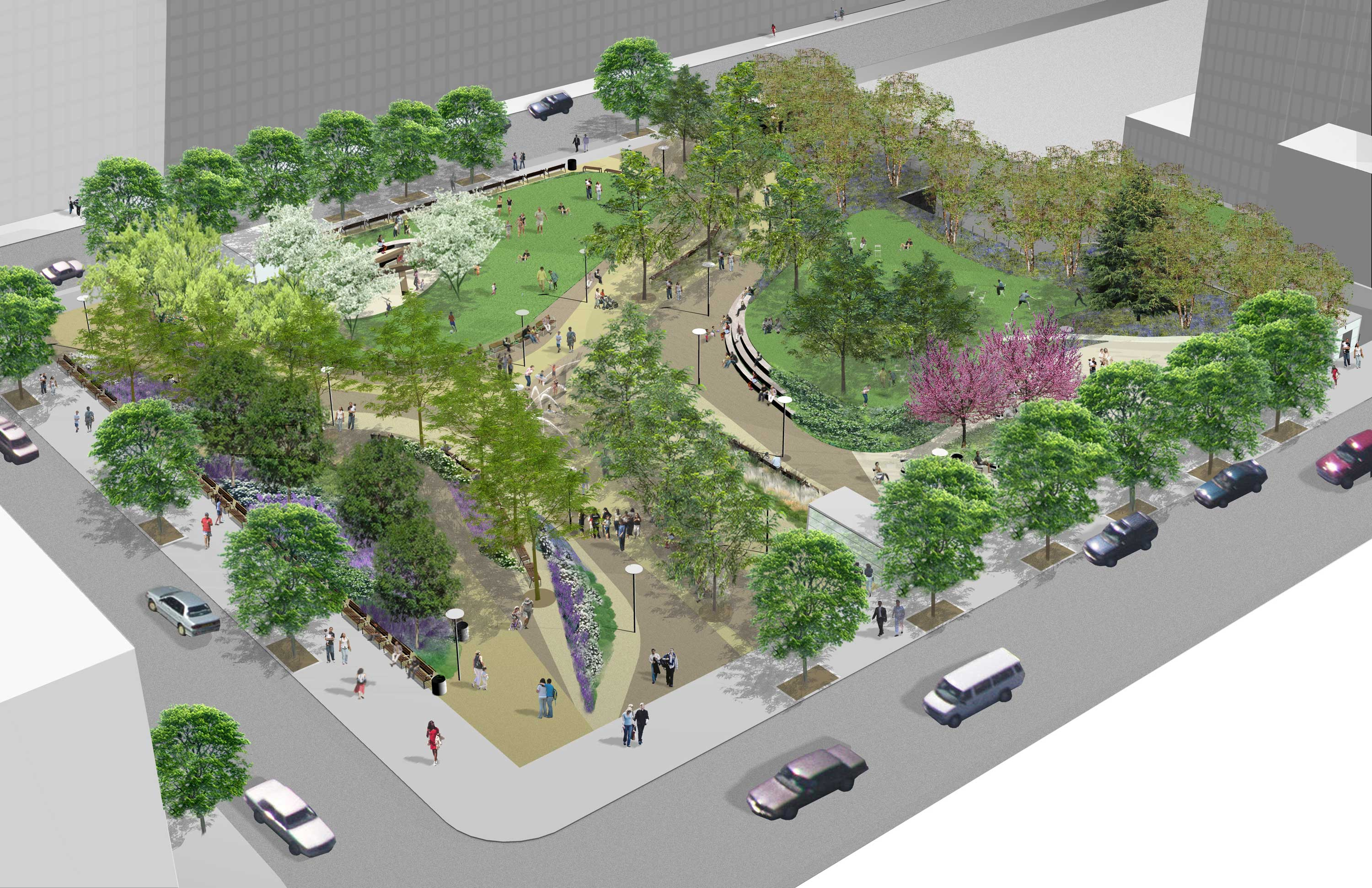 Willoughby Square, rendering via EDC