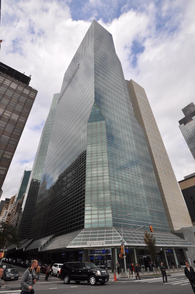 1 United Nations Plaza and 2 United Nations Plaza, October 2014. Photo by Christopher Bride/PropertyShark