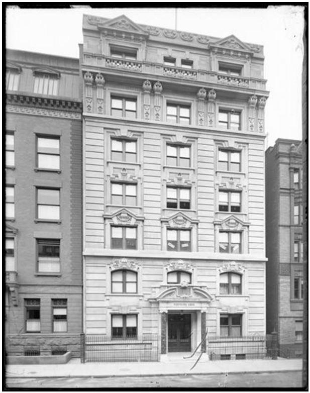 164 West 74th Street, 1902
