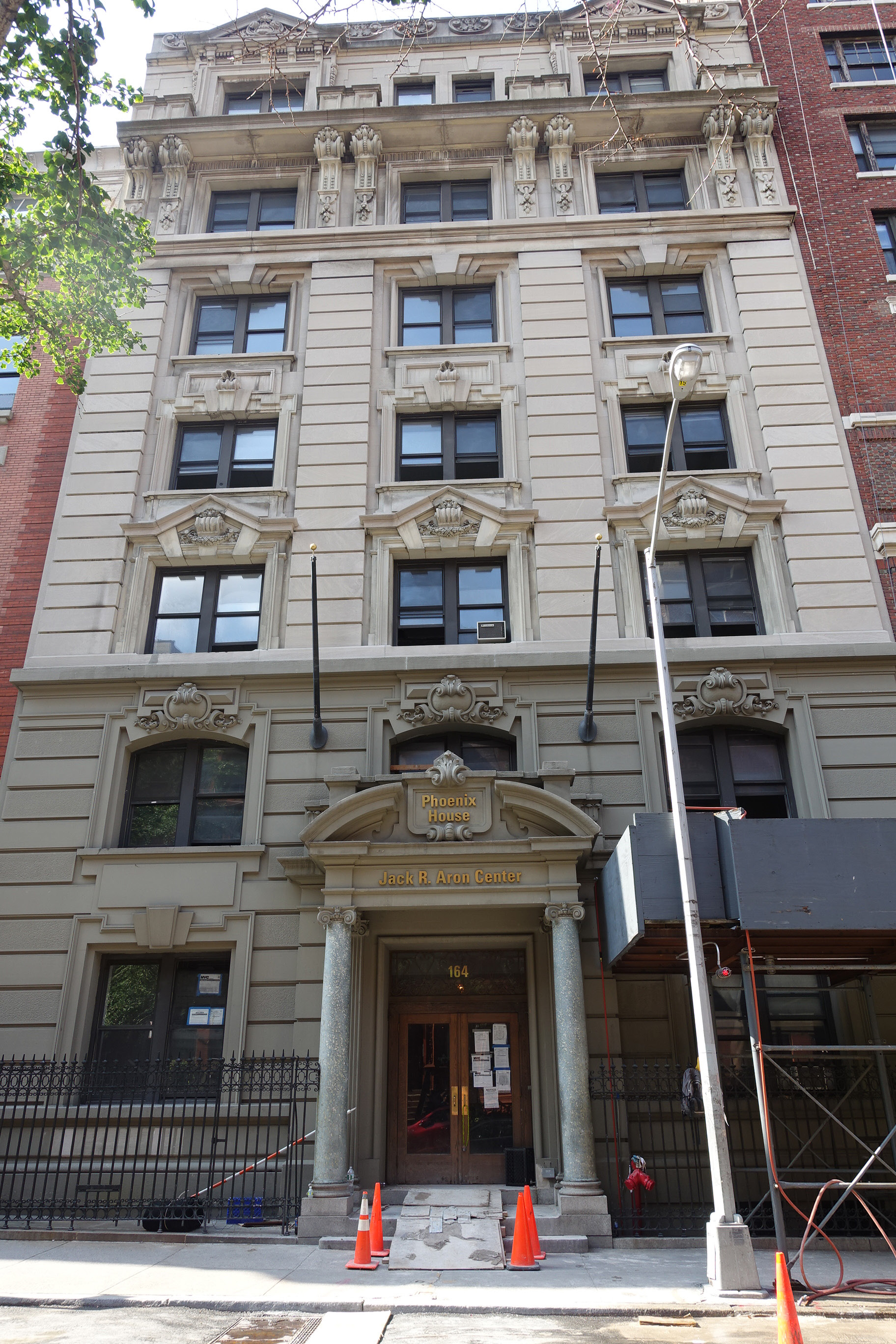 164 West 74th Street, existing conditions