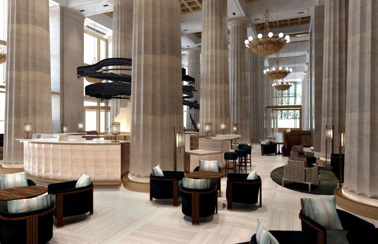 Landmarks Roves Interior Of New U Restaurant At 195 Broadway Financial District