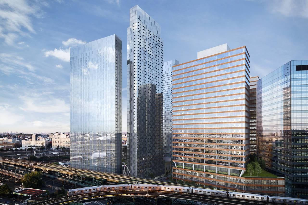New Renderings Show Tishman Speyer S Residential Towers