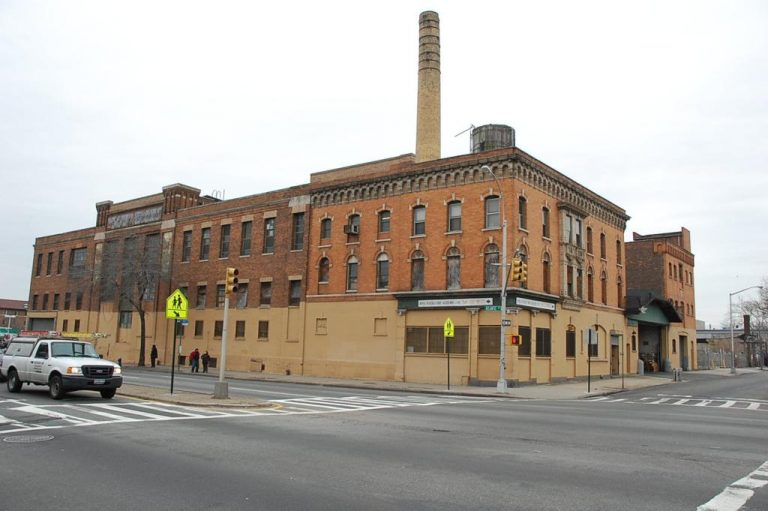 The former Empire State Dairy Company complex at 2840 Atlantic Avenue in March of 2008. Photo by Nicholas Strini/PropertyShark.