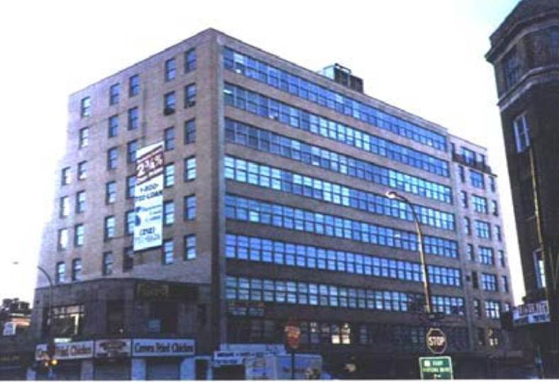 42-15 Crescent Street as an office building, before its residential conversion. Credit: Sundance Real Estate.