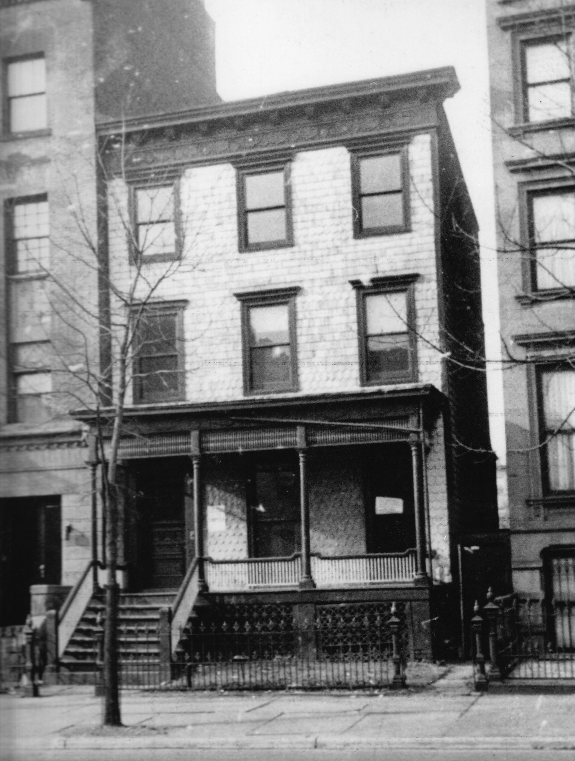 476 Washington Avenue in the 1960s
