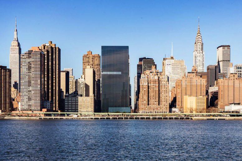 685 First Avenue. Rendering by Richard Meier & Partners Architects via WSJ