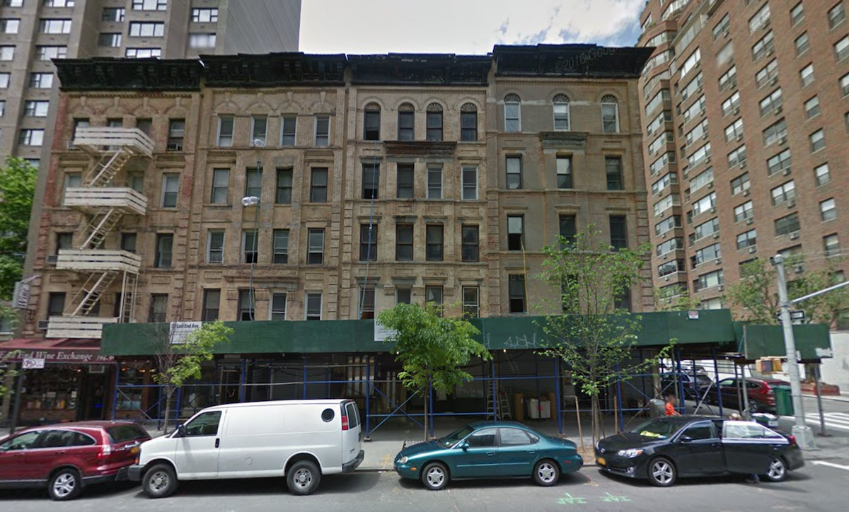70-74 East End Avenue, image via Google Maps