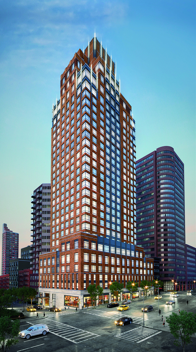 Rendering of The Kent, 200 East 95th Street