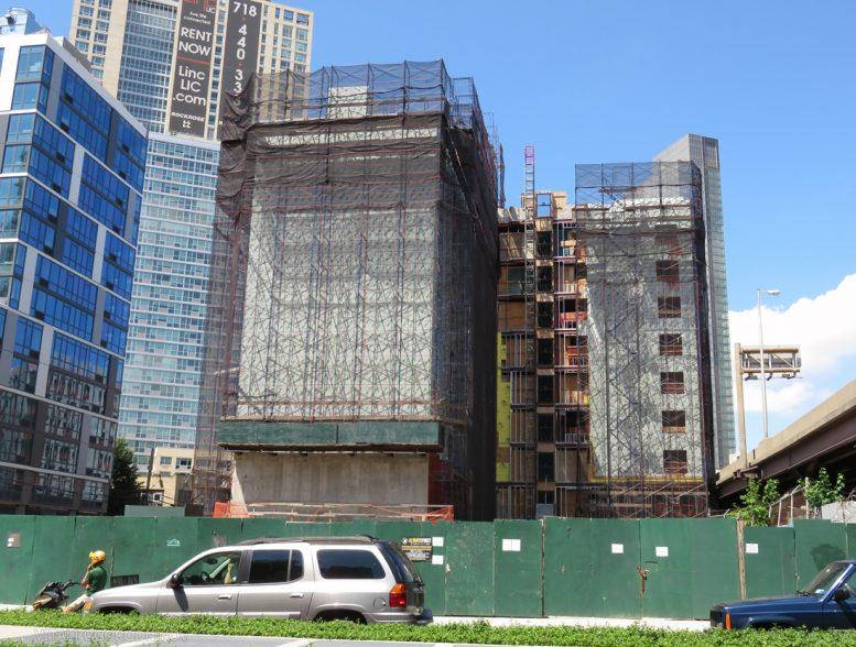 facade installation imminent at hyatt place hotel 27 07 43rd avenue