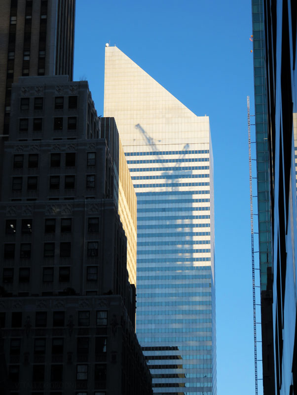 The former Citicorp Center at 601 Lexington Avenue. Photo by Vitali Ogorodnikov